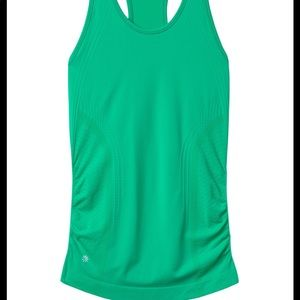 Athleta speedlight tank in high teal